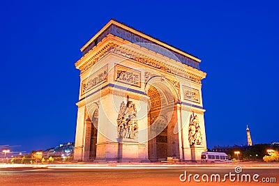 The Triumphal Arch, Paris
