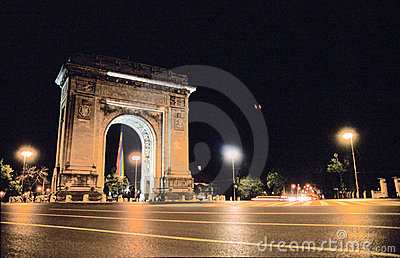 Triumphal Arch in Romania