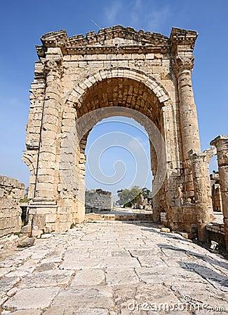 Triumphal Arch,Tyre, Lebanon