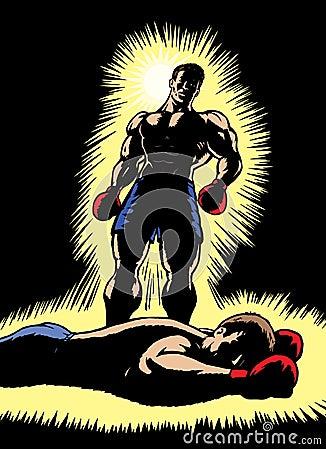 Triumphant Boxer