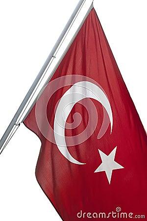Türkische Markierungsfahne