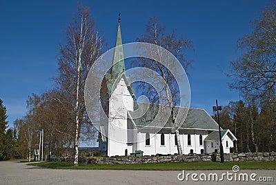 Trømborg church (south, southwest)