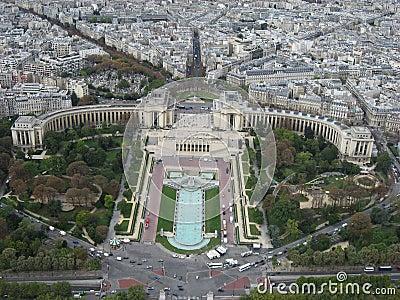 Trocadero Gardens Paris