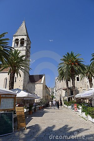 Trogir Editorial Stock Image