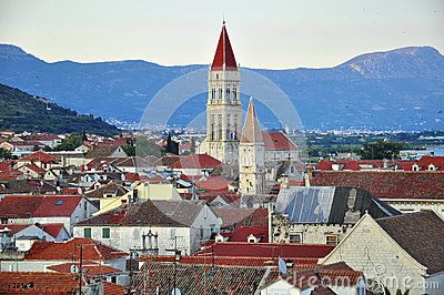 Trogir from above