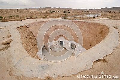 Troglodyte dwellings,Tunisia