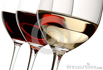 trois couleurs de vin photo libre de droits image 3805065. Black Bedroom Furniture Sets. Home Design Ideas