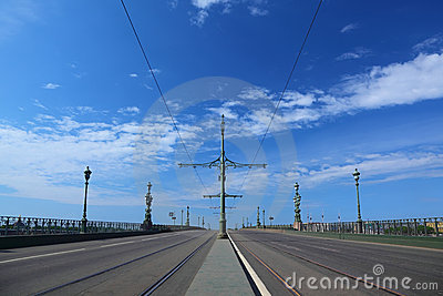 Troitsky Bridge, Saint-Petersburg