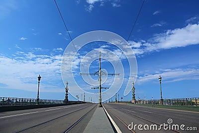 Troitsky Bridge, Saint-Petersburg