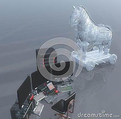 Trojan Virus and computer