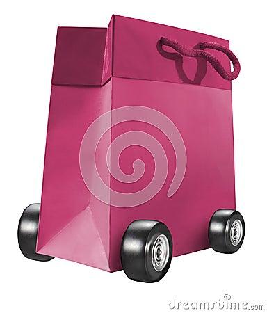 Troll paper bag