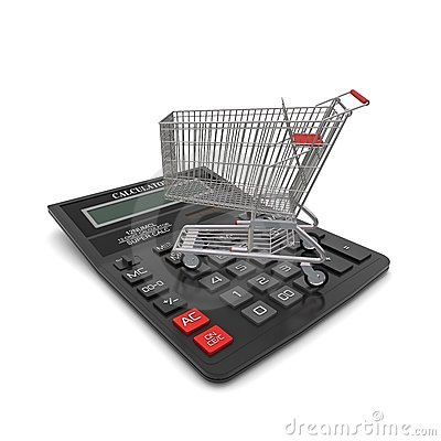 Trolley buyer on the calculator