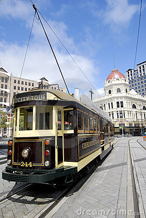 Free Trolley - Christchurch, New Zealand Royalty Free Stock Photo - 5094375
