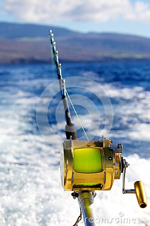 Trolling For Big Game Stock Photography Image 37168062