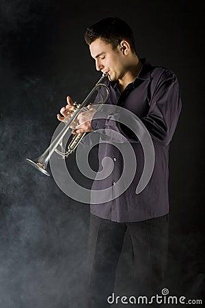 Trombeta do homem