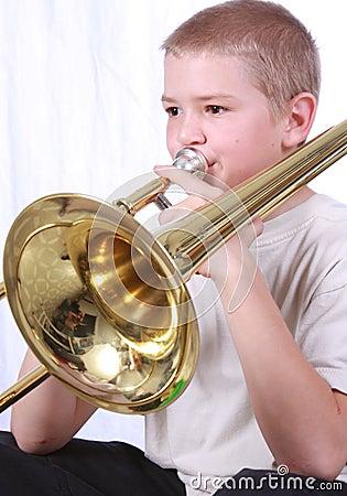 Trombone player 1