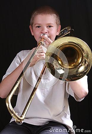 Trombone player 4