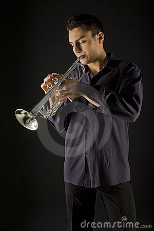 Trompeta del hombre