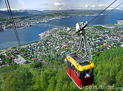 Tromso cable car