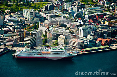Tromso city in Norway