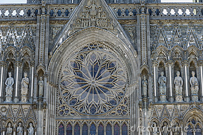 Trondheim Cathedral stained window