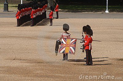 Trooping the Colour, Editorial Stock Image