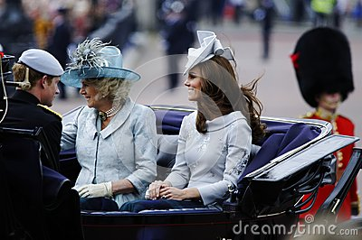 Trooping the Colour, London 2012 Editorial Stock Image