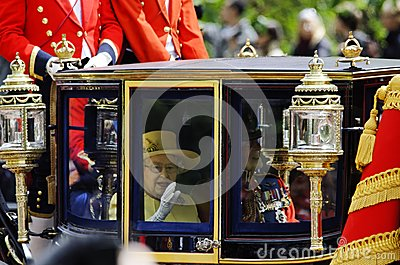 Trooping the Colour, London 2012 Editorial Stock Photo