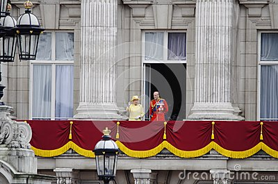 Trooping the Colour, London 2012 Editorial Photo