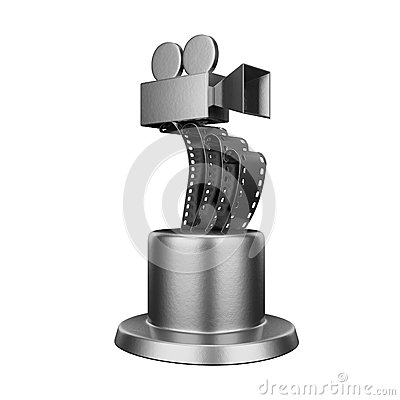 Trophy film award conceptual design