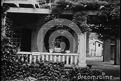 Tropić strzał wejście dom zdjęcie wideo