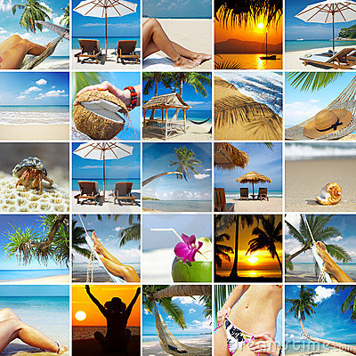 Free Tropic Collage Stock Photography - 12528972