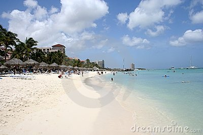 Tropical Aruba Beach