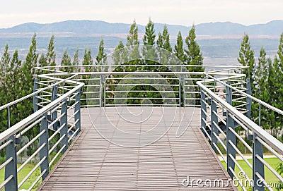Tropical balcony