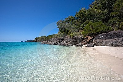 Whitsunday Island beach