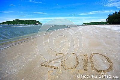 Tropical beach 2010