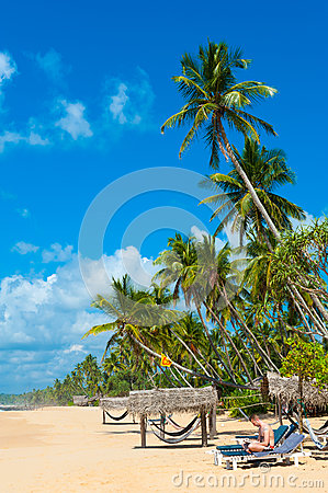 Tropical Beach Royalty Free Stock Images - Image: 26120499
