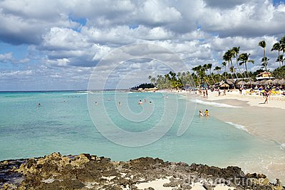 Tropical beach Editorial Stock Image