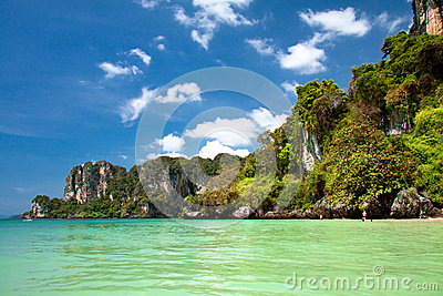 Tropical beach, Andaman Sea