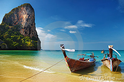 Tropical Beach, Andaman Sea, Thailand Stock Photo - Image: 14672280