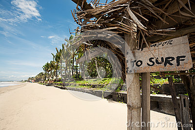 Tropical beach in Bali, Indonesia