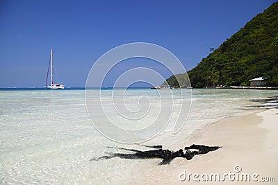 Private beach Haiti