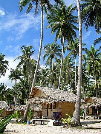 Tropical beach, Chang Island, Thailand