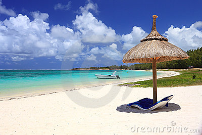Tropical beach in dream island