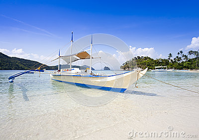 Tropical beach, El Nido, Palawan, Philippines