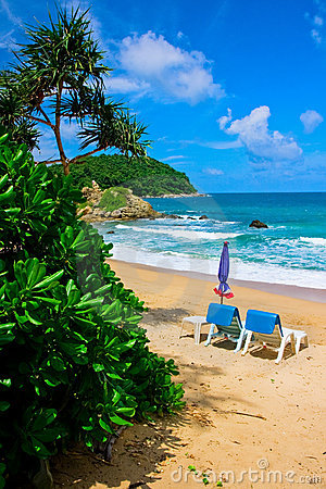 Free Tropical Beach In Phuket Royalty Free Stock Photography - 7438367