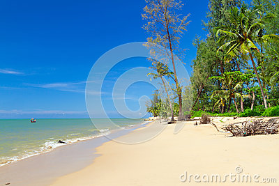 Tropical beach of Koh Kho Khao island