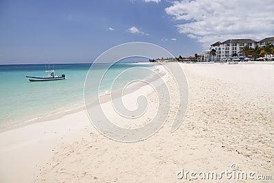 Tropical beach Mexico