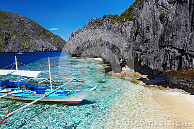 Tropical beach, Philippines