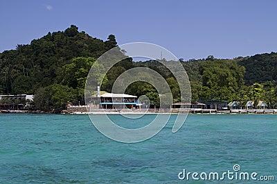 Tropical beach resort, Thailand